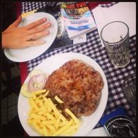 Le porzioni serbe