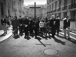 Processione del venerdì santo a Lisbona